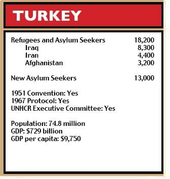 Turkey figures